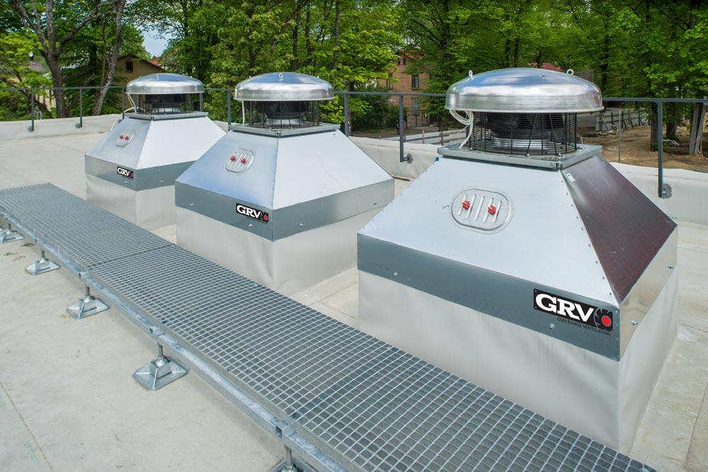 Gun Range Purge Ventilation Systems
